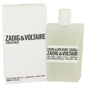 Zadig&Voltaire This is Her! Női EDP Tester (100ml)