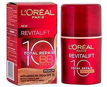 "L'oreal Revitalift Total Repair BB Krém SPF20 ""Medium""(50ml)"