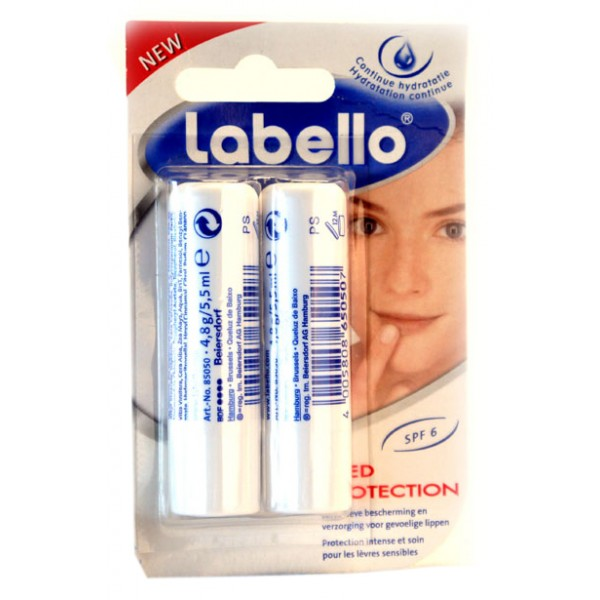 Labello Med Protection Dupla SPF6(2x5,5ml)
