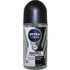 Nivea férfi golyós deo-Invisible Black&White(50ml)