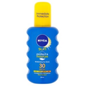 Nivea Sun Protect & Moisture 30+ Napózó Spray (200ml)