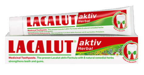 Lacalut aktiv Herbal fogkrém (75ml)