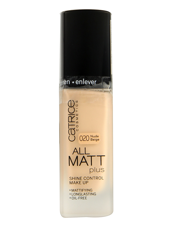 Catrice All Matt Plus Alapozó-020 Nude Beige(30ml)