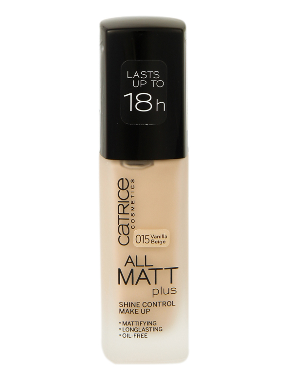 Catrice All Matt Plus Alapozó-015 Vanilla Beige(30ml)