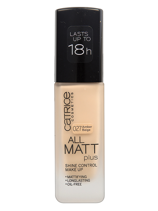 Catrice All Matt Plus Alapozó-027 Amber Beige(30ml)