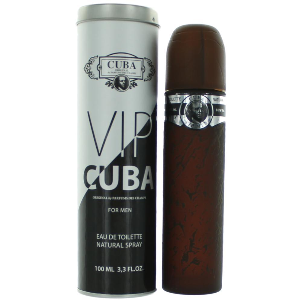 Cuba VIP Férfi EDT Natural Spray(100ml)