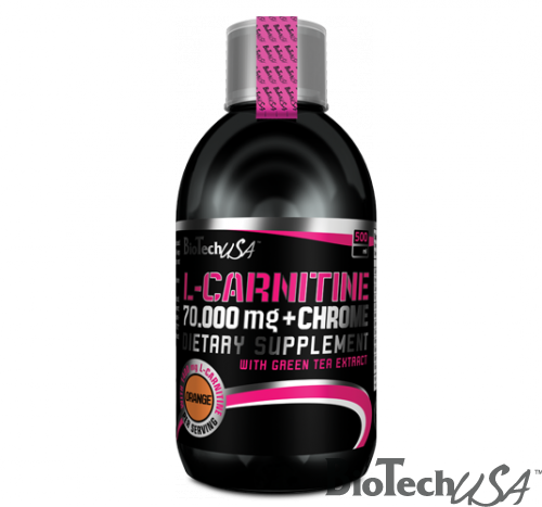 BioTech USA L-Carnitine 70.000mg+Chrome-Narancs(500ml)