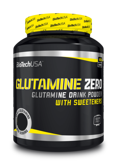 BioTech USA Glutamine Zero-Barackos Ice Tea(600g)