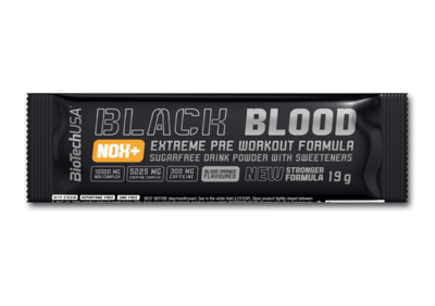 BioTech USA Black Blood NOX+ Vérnarancs ízű(19g)