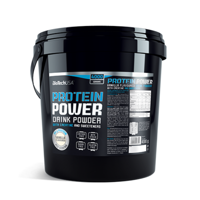 BioTech USA Protein Power-Vanília(4000g)