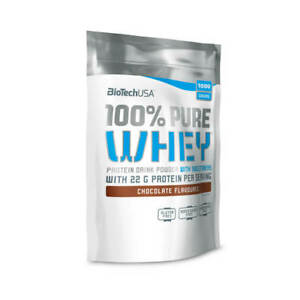 BioTech USA 100% Pure Whey(chocolate-1kg)
