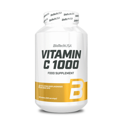 BioTech USA Vitamin C 1000mg Tabletta(250db)