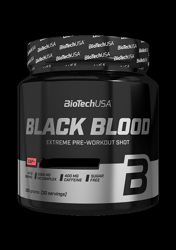 BioTech USA Black Blood-Áfonya ízű(300g)