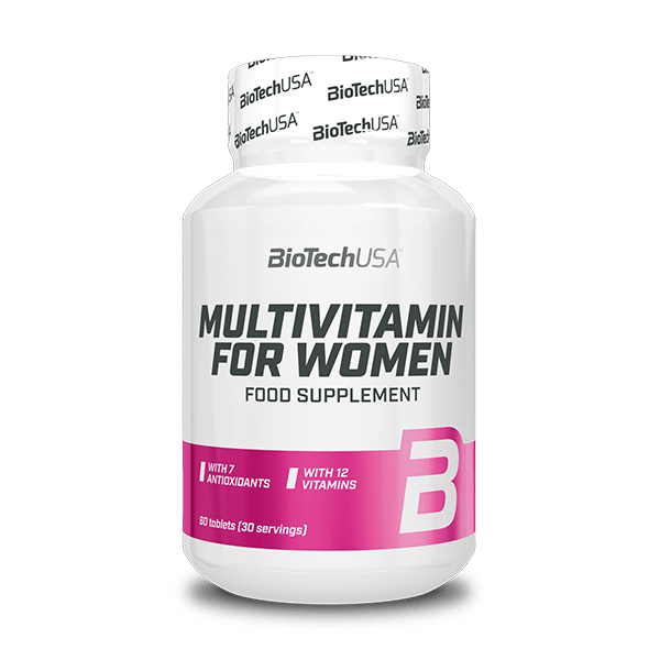 BioTech USA Multivitamin For Women Tabletta(60db)