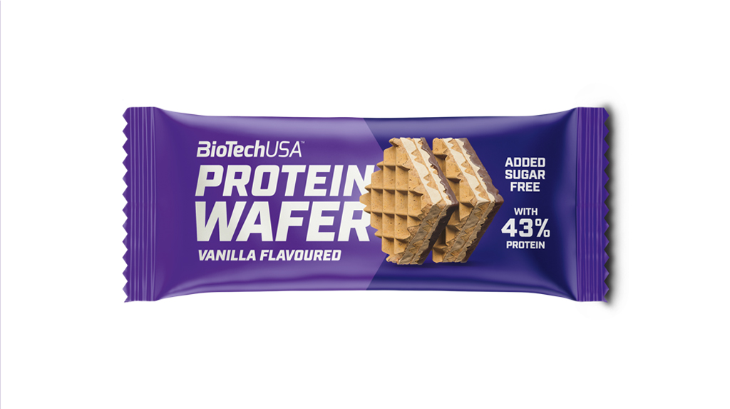 BioTech USA Protein Wafer Vanilla Flavoured(35g)