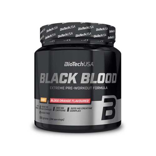 BioTech USA Black Blood NOX+ Áfony-Lime ízű(330g)
