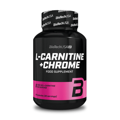 BioTech USA L-carnitine+Chrome Kapszula(60db)