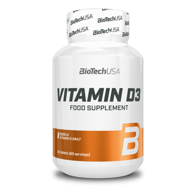 BioTech USA Vitamin D3 Tabletta(60db)