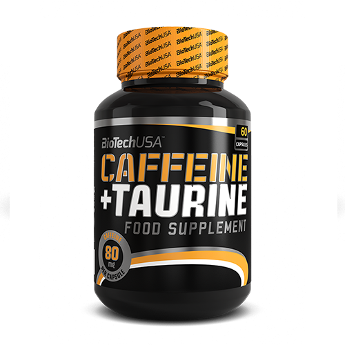 BioTech USA Caffein And Taurine (Power Force) 60db