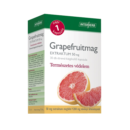 Interherb Grapefruitmag Kapszula(30db)