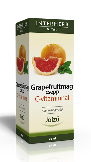 Interherb Grapefruitmag Csepp (20ml)