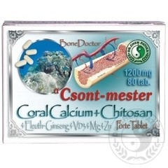 DR.Chen Csont-mester Coral calcium tabletta(80db)