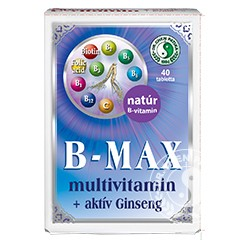 Dr.Chen B-Max Multivitamin+Ginseng Tabletta(40db)