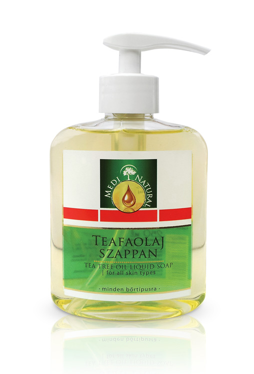 MediNatural Teafaolaj Szappan Pumpás(250ml)
