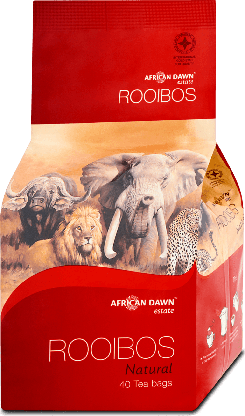 African Dawn Rooibos Filteres Tea Natural(40db)