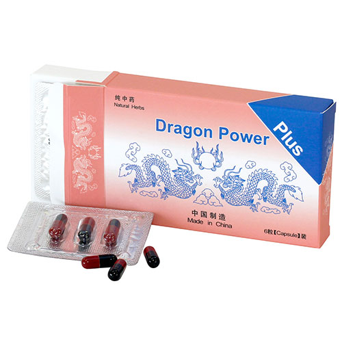 Dragon Power Plus Kapszula(6db)