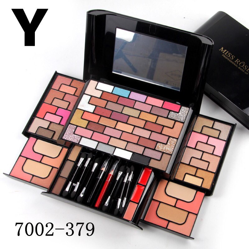 Miss Rose Make Up Kit 3D Fashion paletta