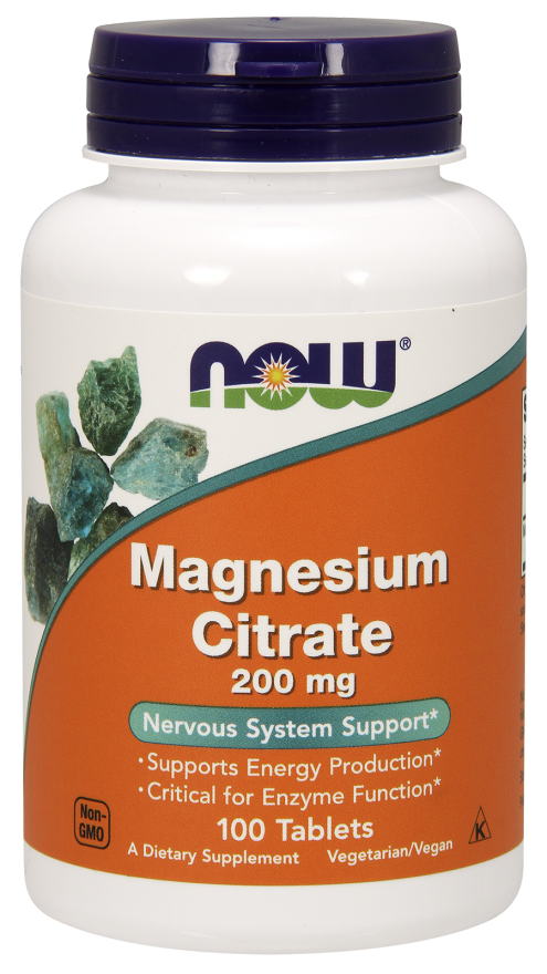 Now magnesium citrate tabletta(100db)