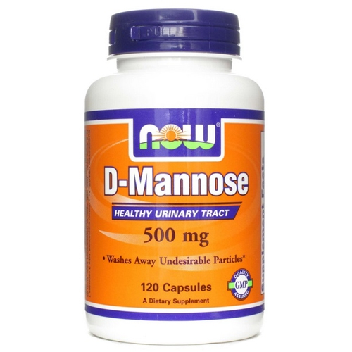 Now D-Mannose 500mg Kapszula (120db)