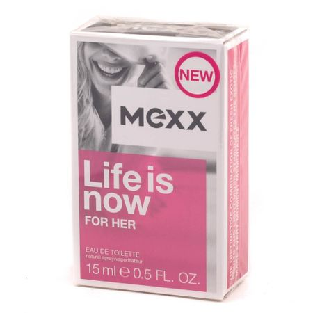 Mexx Life Is Now Női EDT(15ml)