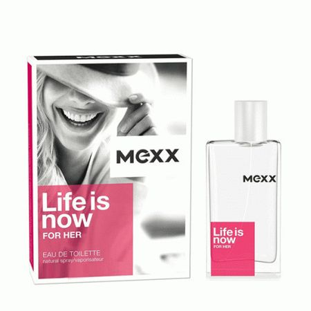 Mexx Life Is Now Női EDT(50ml)