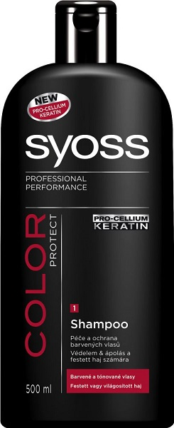 Syoss Sampon-Color Protect, Festett hajra(500ml)