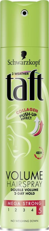 Taft Hajlakk-Collagen Push-Up Effect 5-ös erősségű 250ml