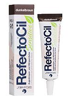 RefectoCil Sensitive festő - gél SÖTÉTBARNA 15ml