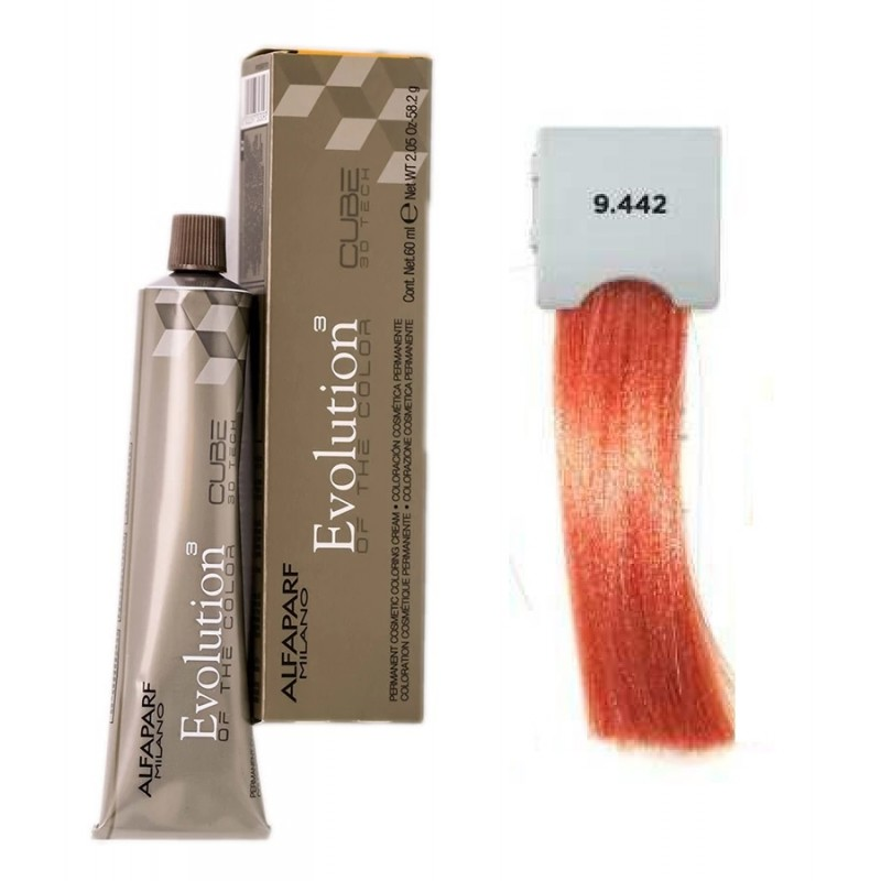 Evolution Hajfesték-9.442 Very Light Intense Copper