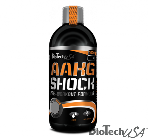 BioTech USA AAKG Shock Extreme-Narancs(1000ml)