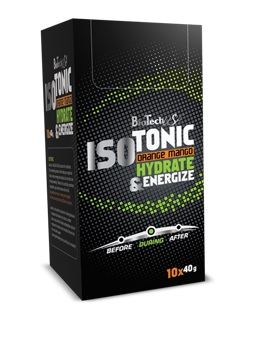 BioTech USA Isotonic-Citrom-ice tea ízű(10x40g)