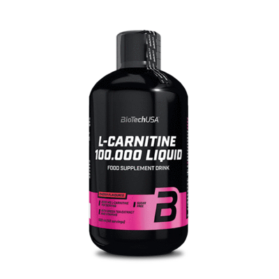 BioTech USA L-Carnitine 100.000 Liquid-Alma(500ml)