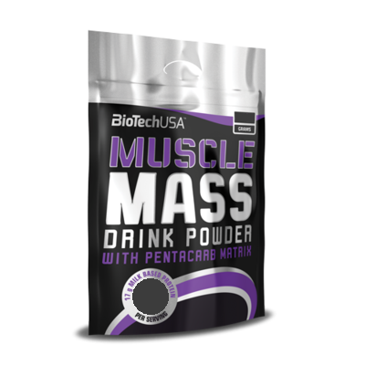 BioTech USA Muscle Mass 4000g - Vanilia