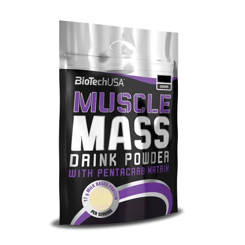 BioTech USA Muscle Mass 1000g - Vanilia