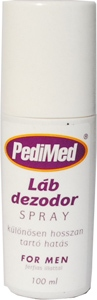 PediMed Láb Dezodor Spray For Men(100ml)